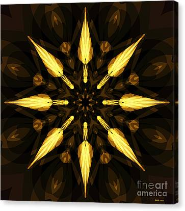 Golden Arrows Canvas Print