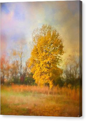 Golden Autumn Splendor - Fall Landscape Canvas Print by Jai Johnson