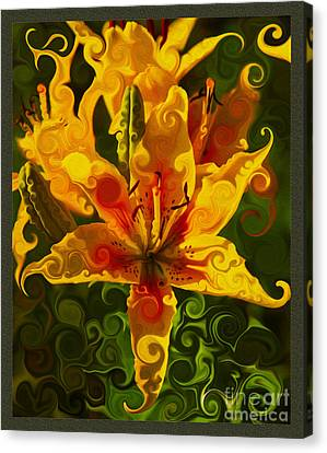 Golden Beauties Canvas Print