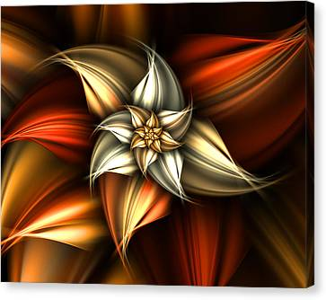 Golden Beauty Canvas Print by Ester  Rogers