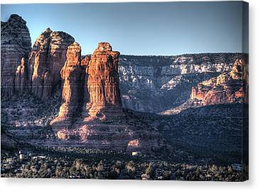 Canvas Print featuring the photograph Golden Buttes by Lynn Geoffroy