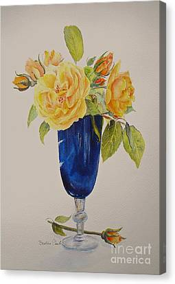 Golden Celebration Canvas Print by Beatrice Cloake