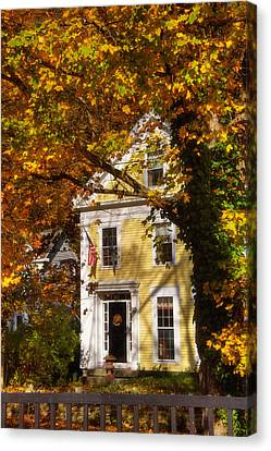 Golden Colonial Canvas Print