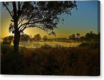 Billabong Sunrise Canvas Print
