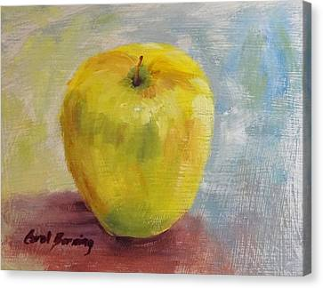 Golden Delicious Canvas Print by Carol Berning
