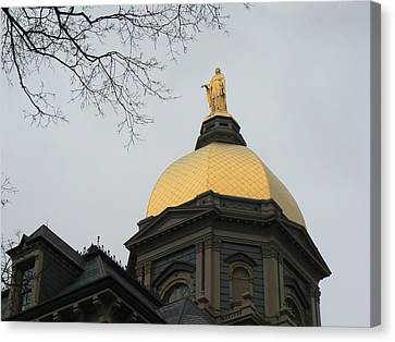 Golden Dome Nd 2 Canvas Print
