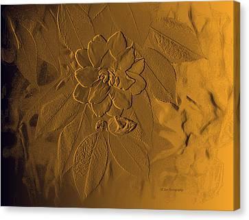 Golden Effulgence Canvas Print