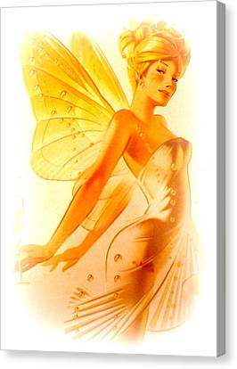 Golden Fairy Canvas Print