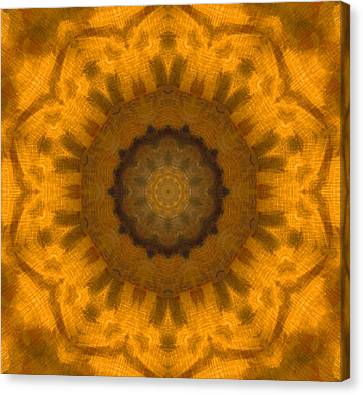 Golden Flower Canvas Print by Dan Sproul