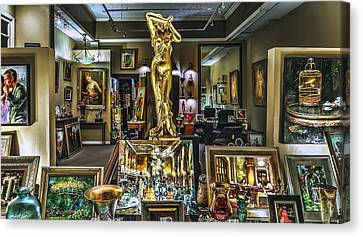 Golden Gallery Canvas Print by Phil Clark