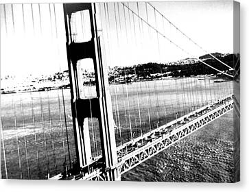 Canvas Print featuring the photograph Golden Gate by Amy Giacomelli