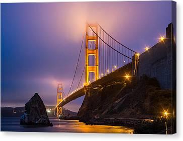 Golden Gate Beauty Canvas Print