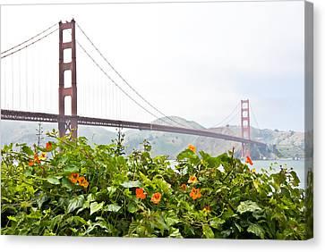 Golden Gate Bridge 2 Canvas Print by Shane Kelly