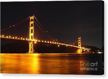 Golden Gate Bridge 2 Canvas Print by Theresa Ramos-DuVon