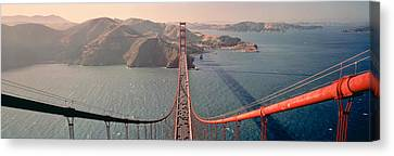 Headlands Canvas Print - Golden Gate Bridge California Usa by Panoramic Images