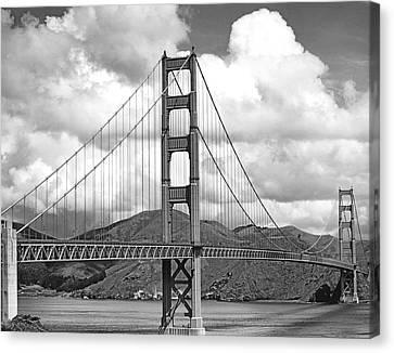 Golden Gate Bridge Canvas Print by Underwood Archives