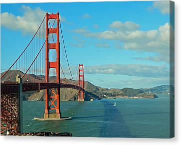Golden Gate Bridge Canvas Print by Emmy Marie Vickers