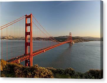 Golden Gate Bridge Canvas Print by Francesco Emanuele Carucci