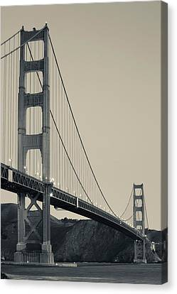 Golden Gate Bridge From Fort Point Canvas Print by Panoramic Images