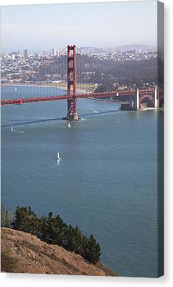 Golden Gate Bridge Canvas Print by Jenna Szerlag