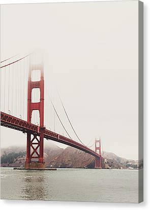Golden Gate Bridge Canvas Print by Nastasia Cook