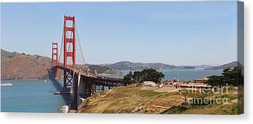 Golden Gate Panorama 7 Canvas Print by Jack Schultz