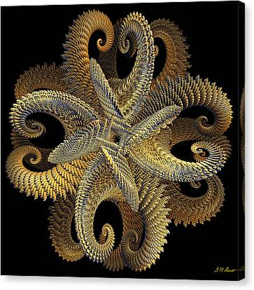 Golden Grace Canvas Print by Michael Durst