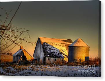 Golden Hour Canvas Print by Thomas Danilovich