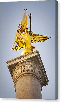 Golden Lady Canvas Print by Rob Thompson