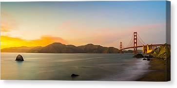 Golden Light Canvas Print by Peter Irwindale