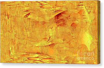 Golden Canvas Print by Max Kutz