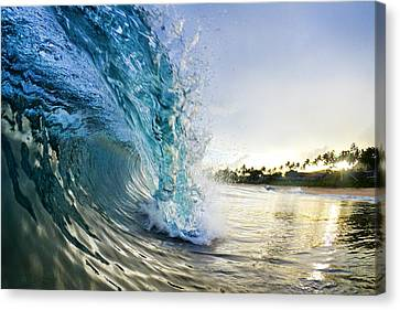 Ocean Canvas Print - Golden Mile by Sean Davey