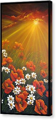 Golden Moment Canvas Print