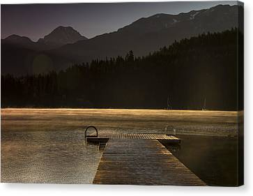 Golden Opportunity Canvas Print by Aaron Bedell
