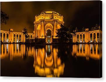 Golden Palace Canvas Print