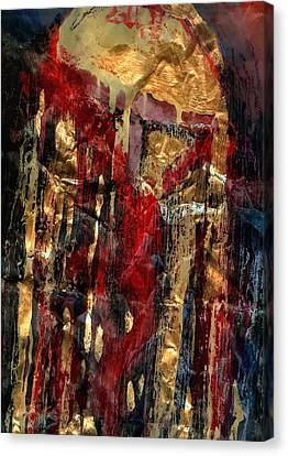 Golden Rain Canvas Print by Daniel Bonnell