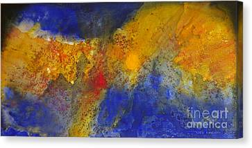 Golden Reef Canvas Print