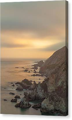Golden Seashore Canvas Print