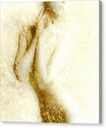 Golden Shower Canvas Print by Gun Legler