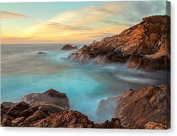 Golden Sky Canvas Print by Jonathan Nguyen
