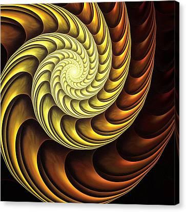 Canvas Print - Golden Spiral by Anastasiya Malakhova