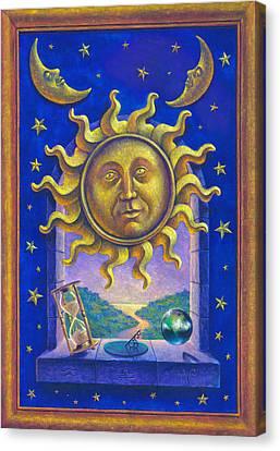 Golden Sun Gw Canvas Print