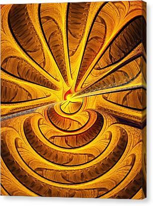 Golden Touch Canvas Print by Anastasiya Malakhova