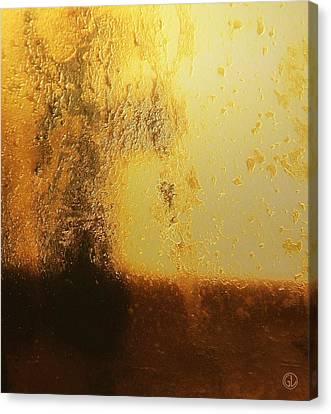 Golden Tree Canvas Print by Gun Legler