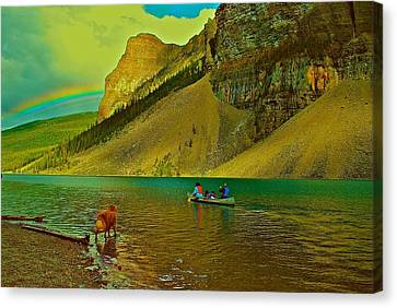 Golden Voyage Canvas Print by Jim Hogg