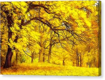 Golden Whisper Canvas Print