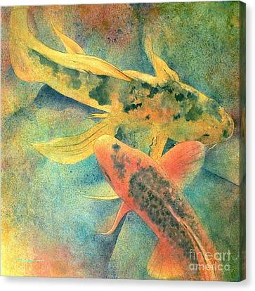 Fish Canvas Print - Goldfish by Robert Hooper