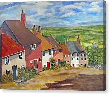 Goldhill II Canvas Print