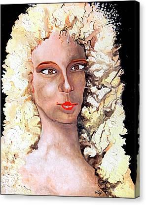 Goldilocks Canvas Print by Daniel Janda