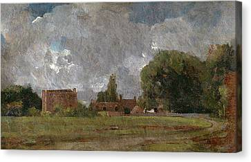 Golding Constables House, East Bergholt The Artists Canvas Print by Litz Collection